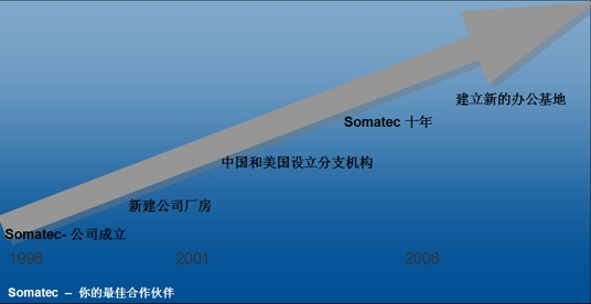 Diagram 10 years of Somatec