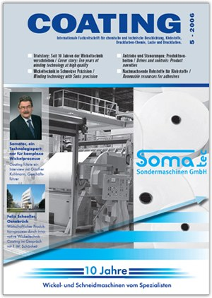 Coating cover story: 10 years of Somatec